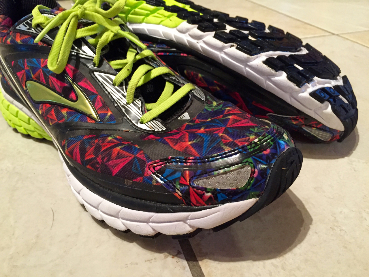 Brooks Ghost 7 Caleidoscope