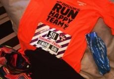 The #runhappy gear