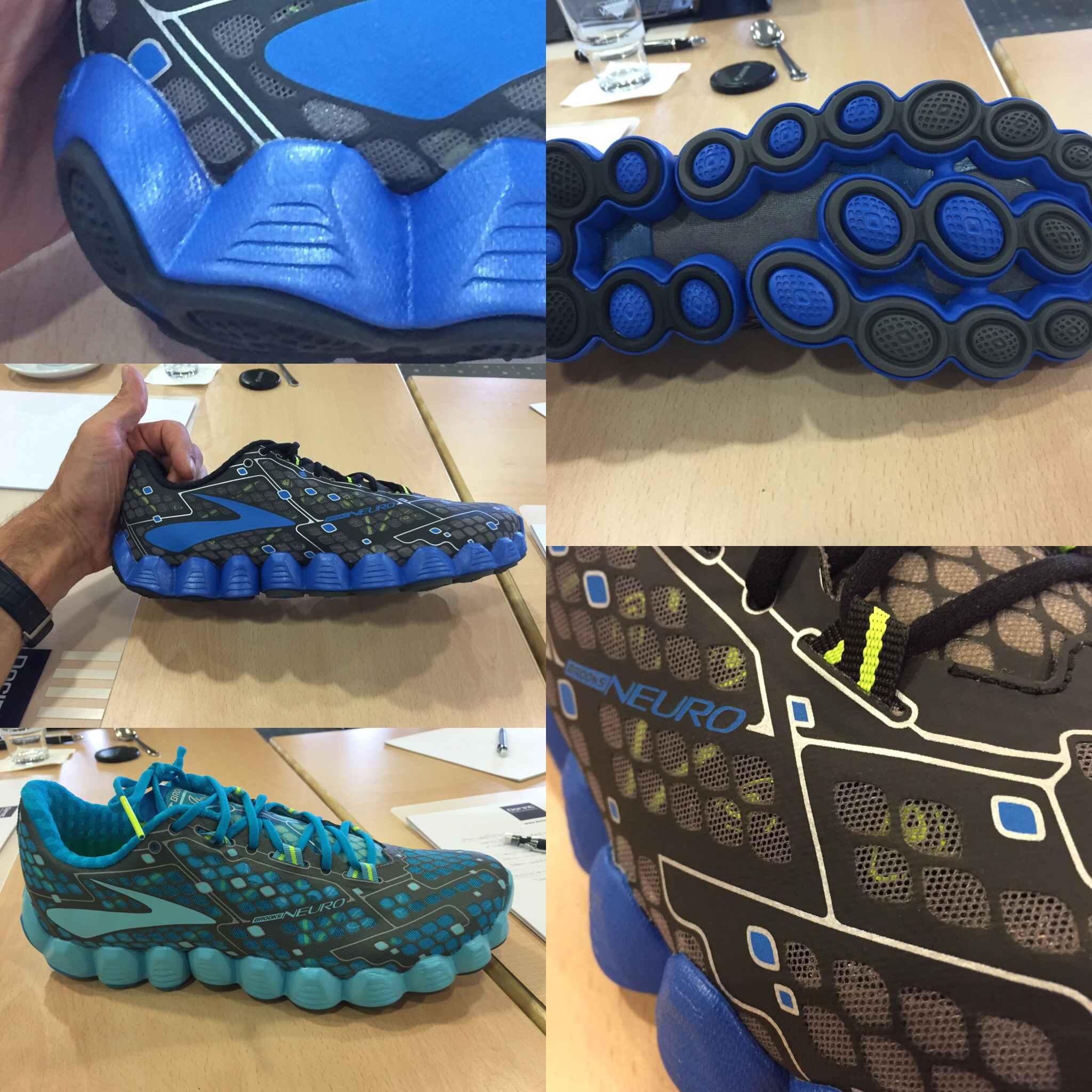 Brooks Neuro Fersendetail