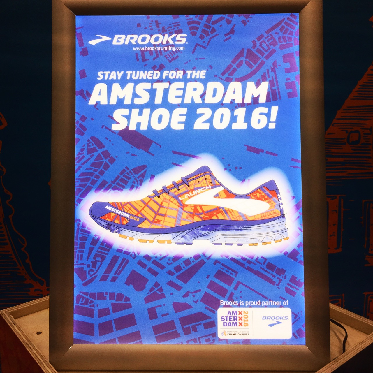 Brooks Launch 3 Amsterdam Preview