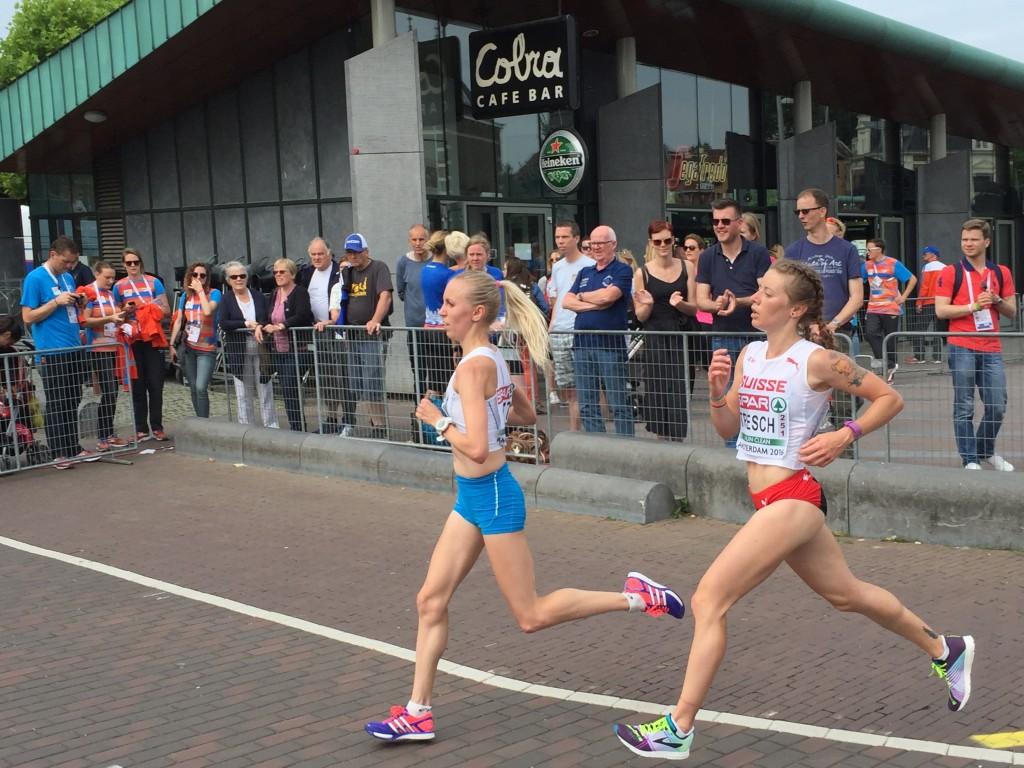 Damen EM-Halbmarathon. Martina Tresch