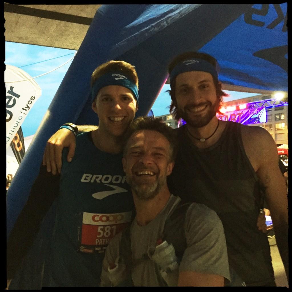 Patrick, Markus et moi